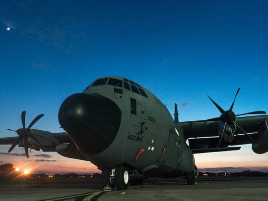 The Hurricane Hunters C-130