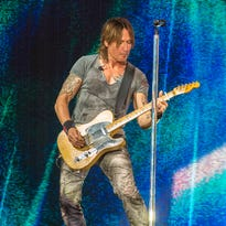 Keith Urban and Kelsea Ballerini at Ruoff Home Mortgage Music Center