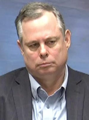 Screen grab from video deposition of former BMV Chief of Staff Shawn Walters.