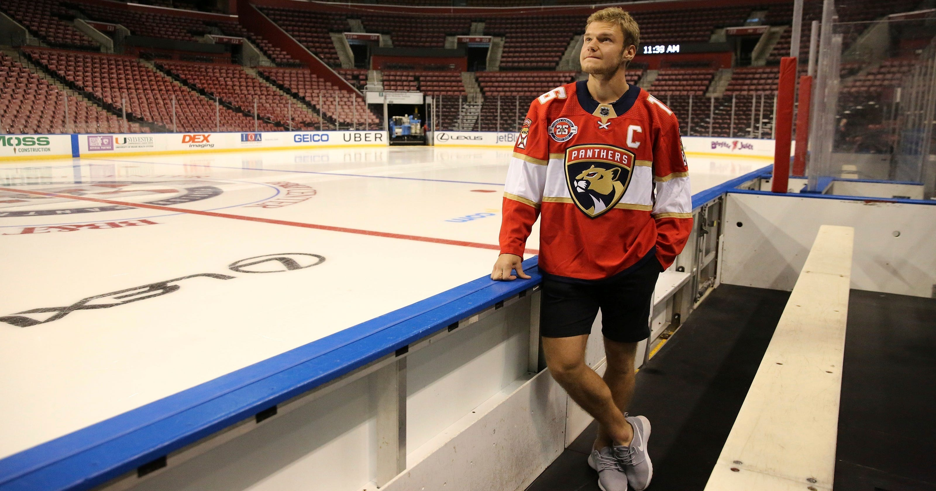 6c61aa83b8d Barkov takes over as captain of Florida Panthers