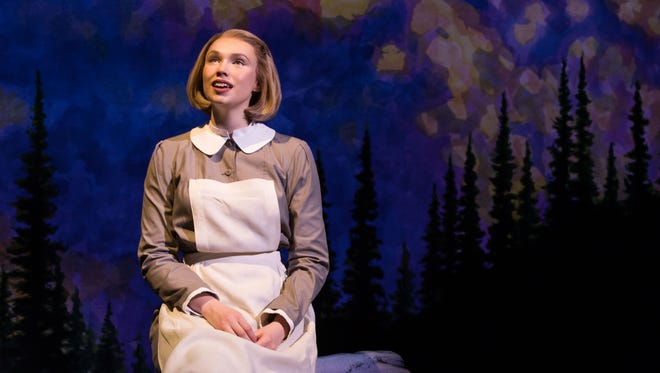 "Charlotte Maltby as Maria in the touring production of ""The Sound of Music."""