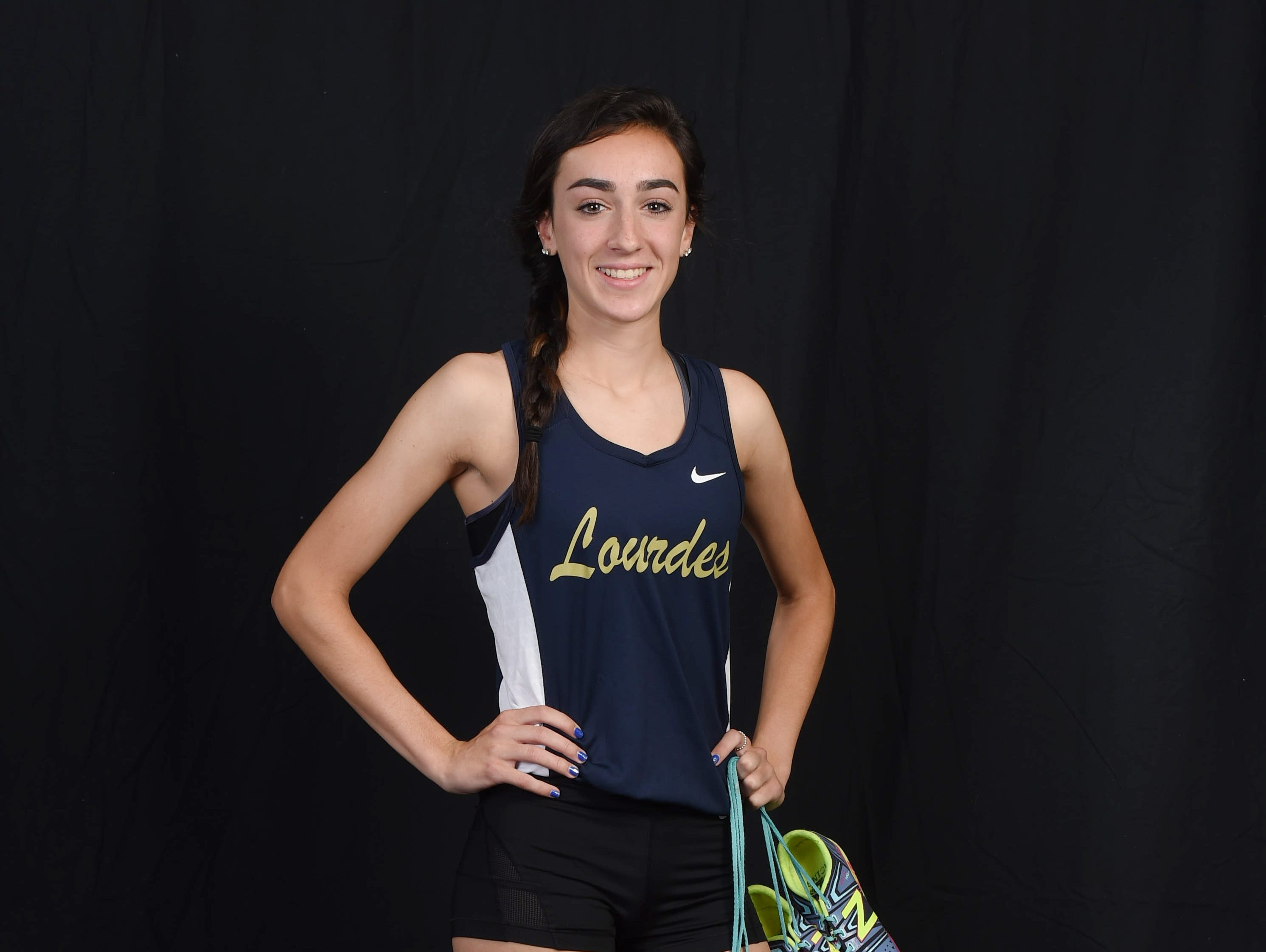 Caroline Timm, player of the year, Our Lady of Lourdes track & field