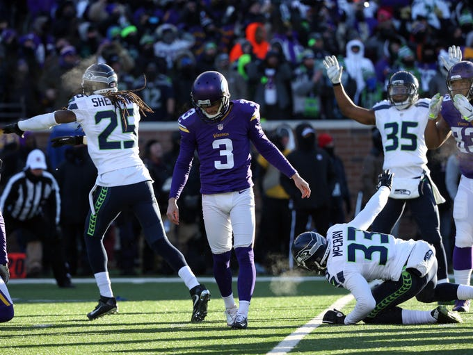 Seattle Blair Walsh >> Best from NFL wild-card games
