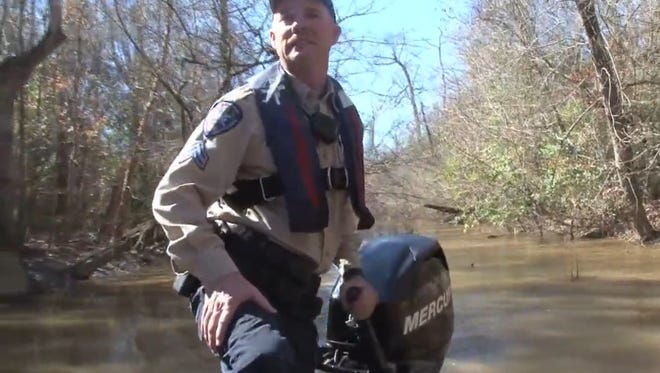A Mississippi hunter spent six days lost in Louisiana's Pearl River WMA according to authorities.