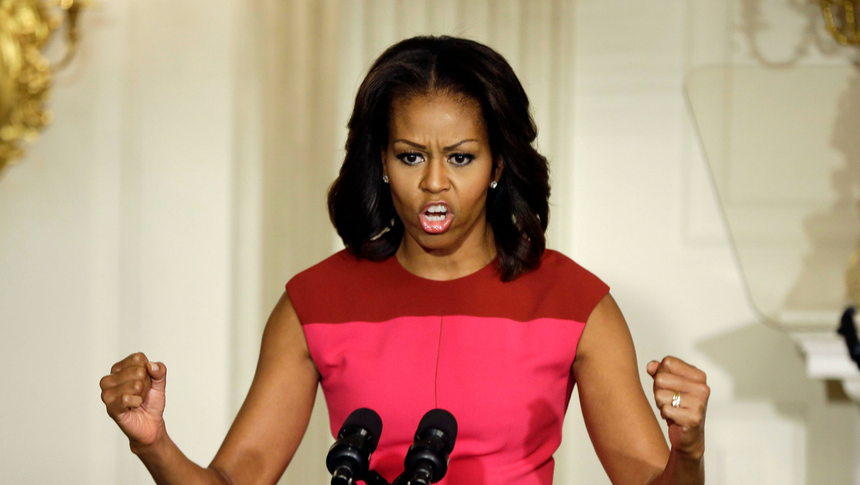 Michelle Obama doesn't rule out plastic surgery, Botox K Michelle Before And After Teeth