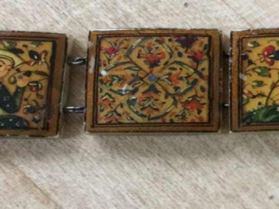 This Persian bracelet was probably crafted sometime