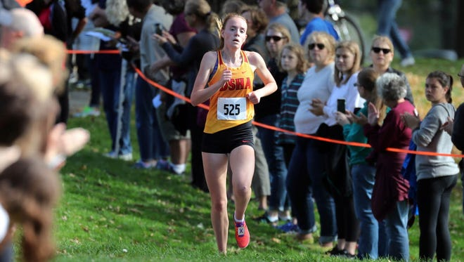 DSHA's Meghan Scott, a state cross country champion, has committed to Notre Dame.