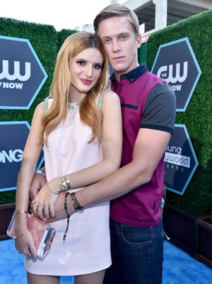 Bella Thorne and Tristan Klier attend the 2014 Young Hollywood Awards brought to you by Samsung Galaxy at The Wiltern on July 27, 2014 in Los Angeles, California.