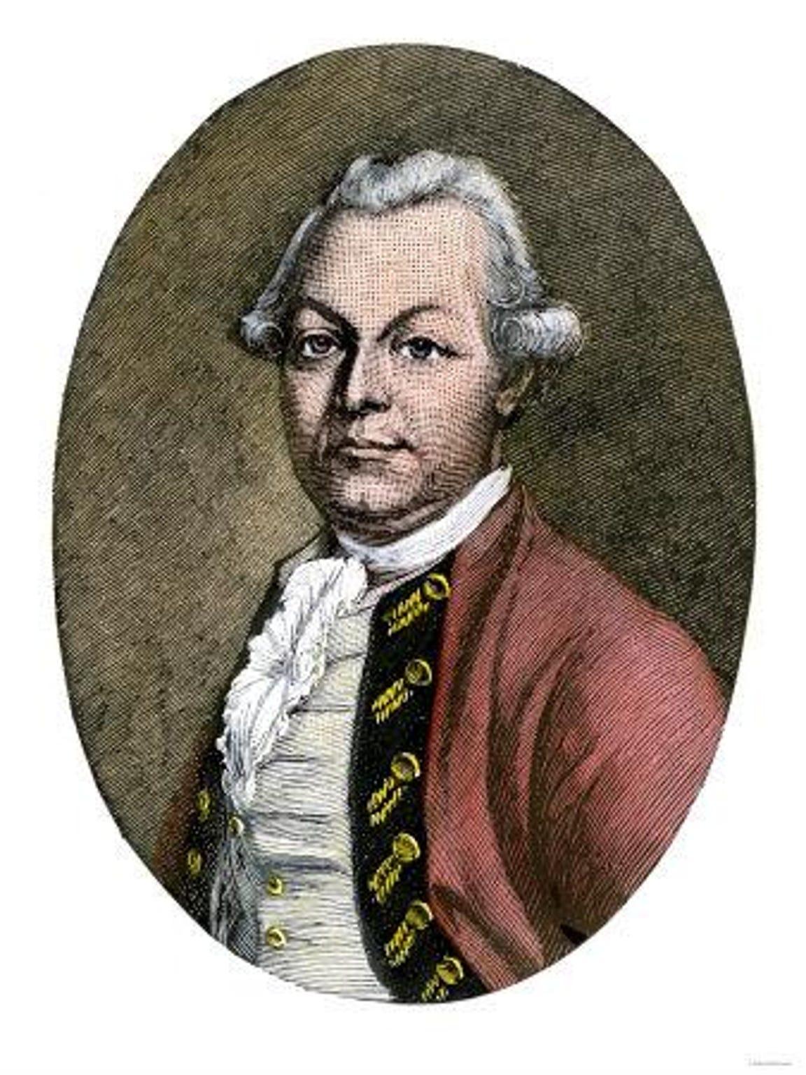 British Brigadier Gen. Simon Fraser (1729-1777).