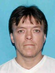 Shane DeMoss in a 2009 mug shot when he was arrested