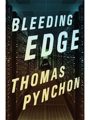 "Cover of Thomas Pynchon's book ""Bleeding Edge."""