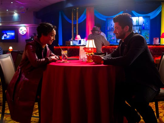 Jesse Custer (Dominic Cooper) shares a quiet moment