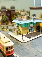 A miniature My Brother's Place, is unveiled on Saturday,