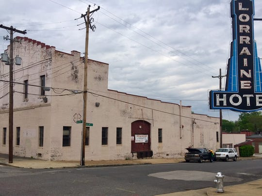 The property owner of 138 Huling wants to builld a four-story, 68-unit apartment building where this vacant building now stands next to the National Civil Rights Museum.