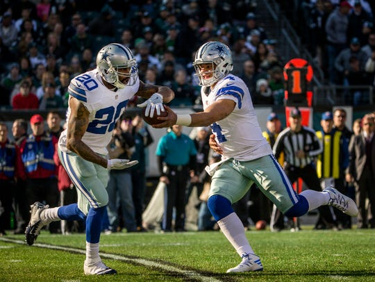 Cowboys quarterback Dak Prescott has surpassed 200 yards passing in only two games this season.