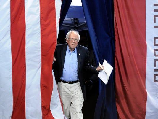 Bernie Sanders rally in LA
