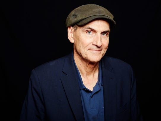 Grammy Award winning singer-songwriter James Taylor poses for a portrait in New York on May 13, 2015.