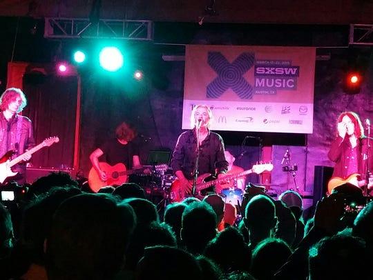 Australian rock band The Church performs Friday night