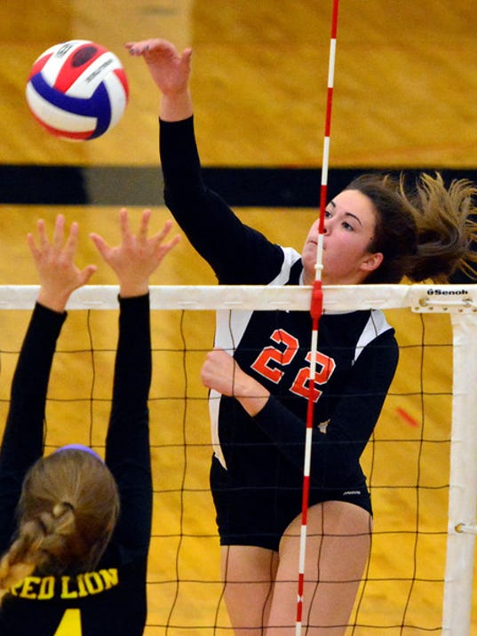 Central York vs Red Lion girl's volleyball