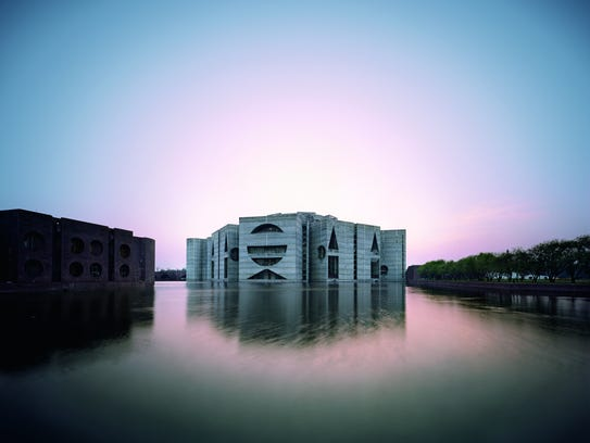 Louis Kahn began designing the National Assembly Building
