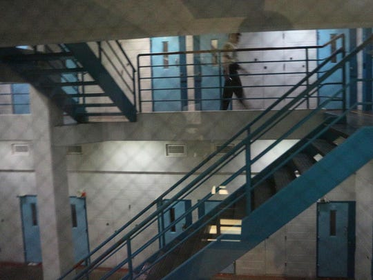 In this file photo from March 2013, corrections officer