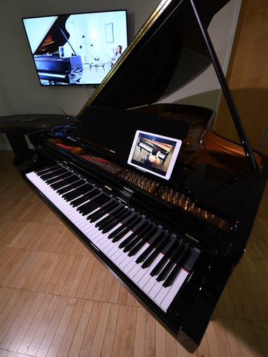 Steinway recently introduced this high-tech self-playing