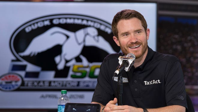 Brian Vickers has one top-10 finish -- seventh at Martinsville Speedway -- in 2016 as a substitute for Tony Stewart.