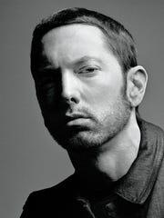 Detroit rapper Eminem in 2017.