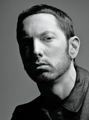 Detroit rapper Eminem in 2017.