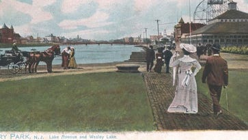 Asbury Park Downtown in the 1900s