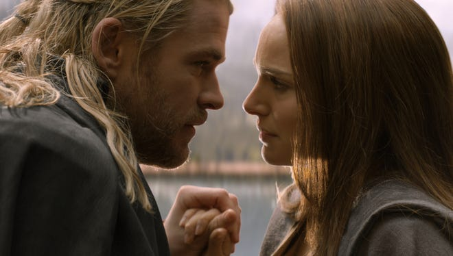 """Director Alan Taylor explored relationships — such as the one between Thor (Chris Hemsworth) and Jane Foster (Natalie Portman) amid an epic visual feast with """"Thor: The Dark World."""""""