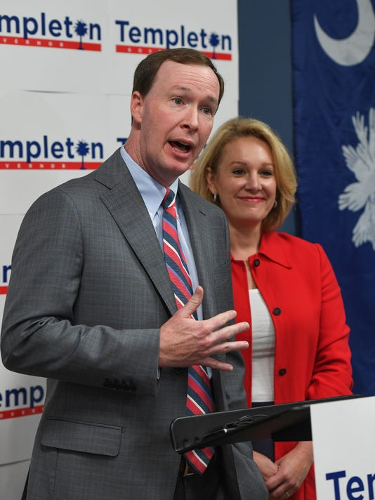 Catherine Templeton announces running mate