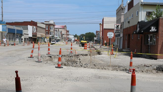 "Work on the extensive Madison Street project has continued to progress throughout this year. Eric Peterson said ""substantial completion"" is estimated to be reached on the project by Nov. 30."