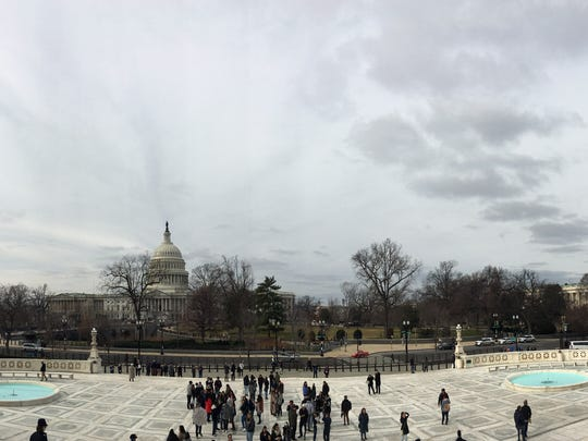 A beautiful view of the Capitol Building.The Dream Academy students were able to tour the site and learn its history.Ê