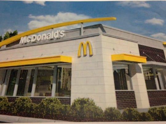 McDonald's says its new restaurant at Chadam Lane in