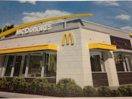 McDonald's says its new restaurant at Chadam Lane in Muncie will look like this.