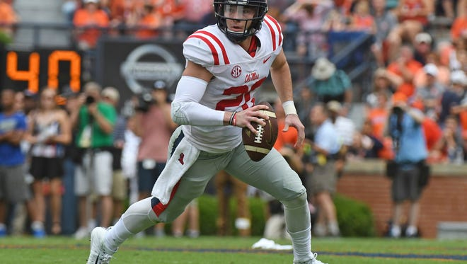 Shea Patterson averages 358.4 passing yards per game, but will face a Vanderbilt defense, which ranks fourth nationally in passing defense.