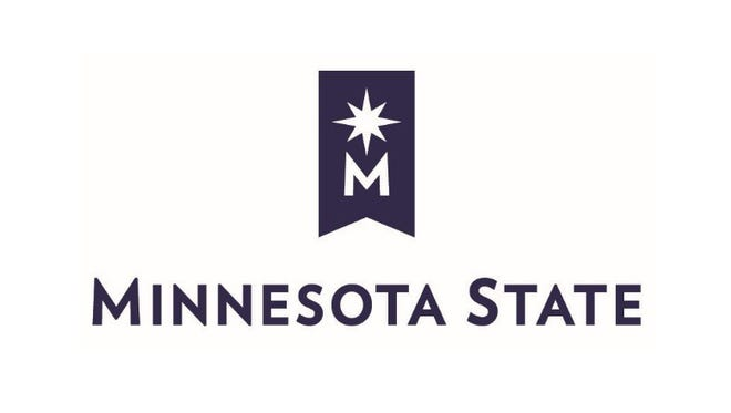 The new Minnesota State Colleges and Universities system logo incorporates its new nickname.