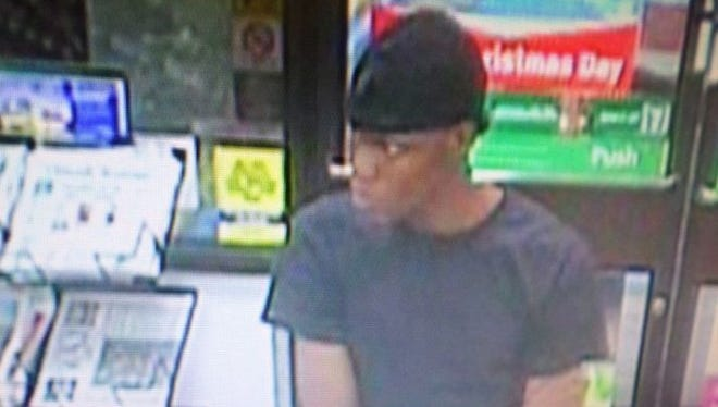 Suspect sought in the theft of lottery tickets in Palm Bay.