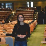 Anne Coulondre is an exchange student at Somerville High School.