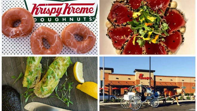 Krispy Kreme,  Sandfish by Engin Onural, Heirloom Craft Kitchen and Chick-fil-A are among the restaurants expected to open in 2018.