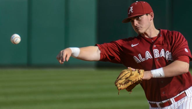 Kyle Overstreet and the Alabama baseball team will face Kentucky in the SEC tournament today in Hoover.