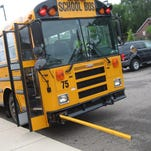 Authorities say a 17-year-old high school student has died after having a medical emergency while aboard a school bus in western Michigan.