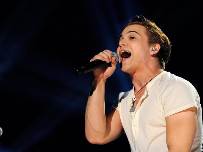 Hunter Hayes performs at CMA Music Fest at LP Field Sunday June 8, 2014.