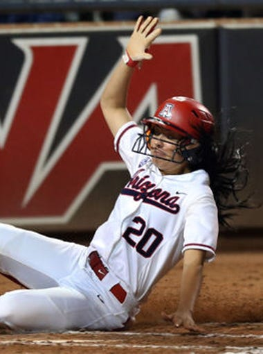 39 former Arizona high school softball players were on the rosters of teams in the 2016 NCAA Softball Tournament. Two of them are on teams that made the Women's College World Series.