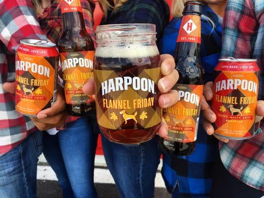 When it comes to fall attire, Boston's Harpoon Brewery