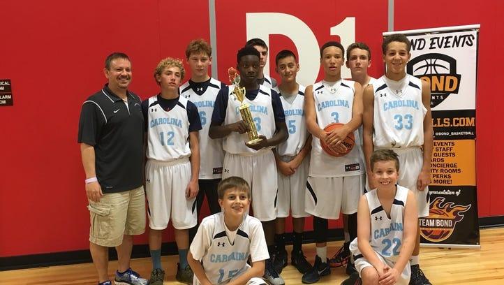 Team Carolina Asheville wins 8th grade tournament