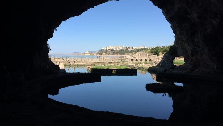 The history of Sperlonga, Italy dates back to the first