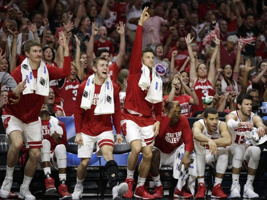 NCAA Arizona Wisconsin Basketball