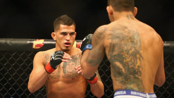 Anthony Pettis failed to make weight for his UFC fight Saturday night in Toronto.